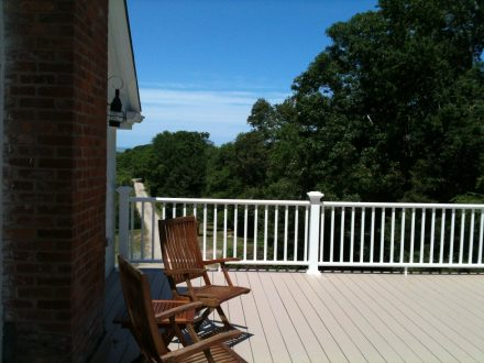 Cottage deck and chairs